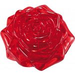 3D Crystal Puzzle - Rose - Red