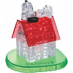 3D Crystal Puzzle - Snoopy House
