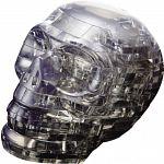 3D Crystal Puzzle - Skull (Black) image