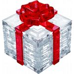 3D Crystal Puzzle - Gift Box - Red