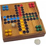 Ludo Wooden Game - Classic Strategy Game