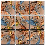 Scramble Squares - Diggin' Dinos image