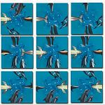 Scramble Squares - Dolphins image
