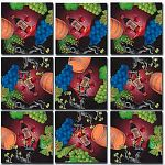Scramble Squares - Vin, Vino, Wein, Wine image