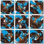 Scramble Squares - Bald Eagles image