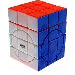 Center shifted 3x3x4 Super i-Cube w/ Evgeniy logo - Stickerless image