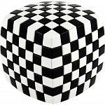 V-CUBE 7 (7x7x7): Illusion - Black and White image