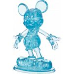 3D Crystal Puzzle - Mickey Mouse (Blue) image