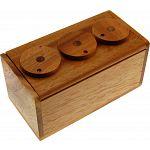 3 Wheel Combination Secret Lock Box image