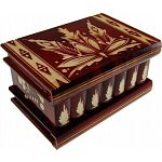 Romanian Puzzle Box - Large Red