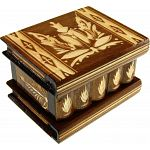 Romanian Puzzle Box - Medium - Brown
