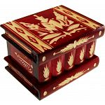 Romanian Puzzle Box - Medium Red