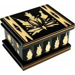 Romanian Puzzle Box - Small Black