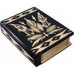 Romanian Secret Book Box - Black