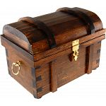 Wooden Treasure Chest - Style A