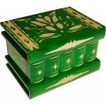 Romanian Puzzle Box - Medium Green