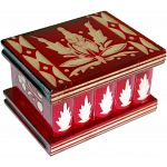 Romanian Puzzle Box - Small Red