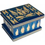 Romanian Puzzle Box - Small Blue