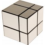 Mirror 2x2x2 Cube - Black Body with Silver Labels image