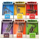 Big Wire 3D Puzzles - #1 - 6 - Set of 6 puzzles