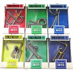 Big Wire 3D Puzzles - #7 - 12 - Set of 6 puzzles