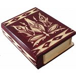 Romanian Secret Book Box - Burgundy