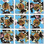 Scramble Squares - Cows