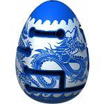 Smart Egg 2-Layer Labyrinth Puzzle - Level 1 Blue Dragon image
