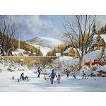 Hockey On Frozen Lake image