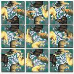 Scramble Squares - Wolves image