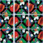 Scramble Squares - Baseball image