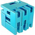 Line Cube - Blue image