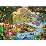 Noah's Ark, Before The Rain - Large Piece Family Puzzle image