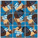 Scramble Squares - Game Birds