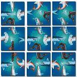 Scramble Squares - Sharks image