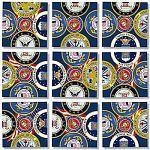Scramble Squares - U.S. Armed Services