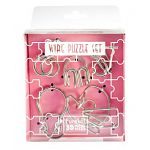 Wire Puzzle Set Pink