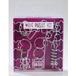 Wire Puzzle Set Purple
