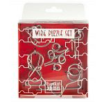 Wire Puzzle Set Red