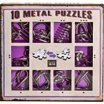 10 Metal Puzzle Set - Purple
