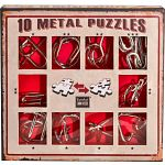 10 Metal Puzzle Set - Red
