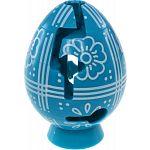 Smart Egg Labyrinth Puzzle - Easter Aqua