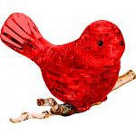 3D Crystal Puzzle - Bird (Red)