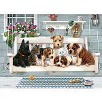 Porch Pals - Family Pieces Puzzle image
