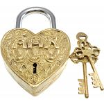 Heart Trick Padlock - 3 Monkeys