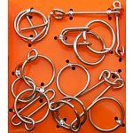 Hanayama Wire Puzzle Set - Orange image