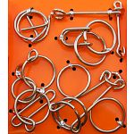 Hanayama Wire Puzzle Set - Orange