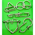 Hanayama Wire Puzzle Set - Green