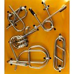 Hanayama Wire Puzzle Set - Yellow