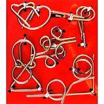Hanayama Wire Puzzle Set - Red image